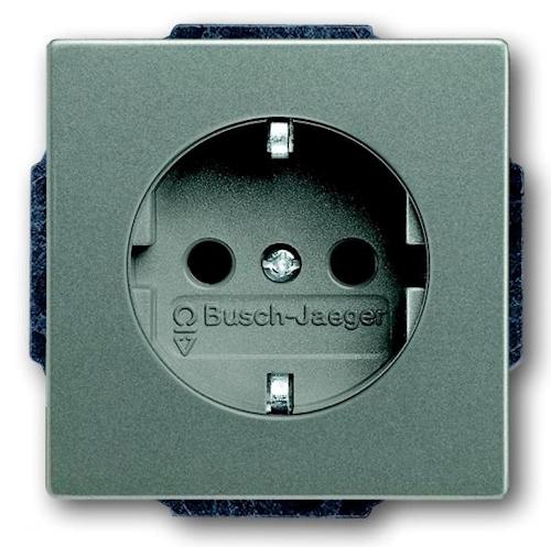 busch jaeger steckdose solo 20euc 803 20eucks 803 o. Black Bedroom Furniture Sets. Home Design Ideas