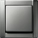 gira lichtschalter aus wechsel edelstahl serie 20 komplett mit rahmen neu kaufen bei. Black Bedroom Furniture Sets. Home Design Ideas