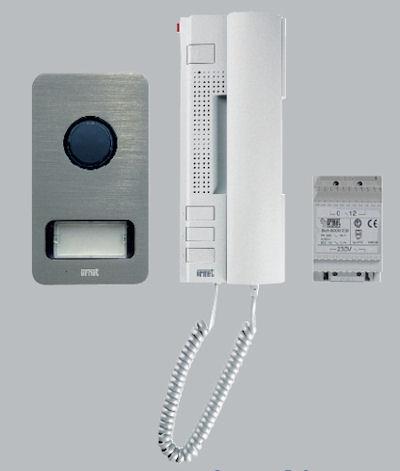 grothe t rsprechanlage 1 teilnehmer 2 telefon sprechanlage set1122 31 urmet. Black Bedroom Furniture Sets. Home Design Ideas